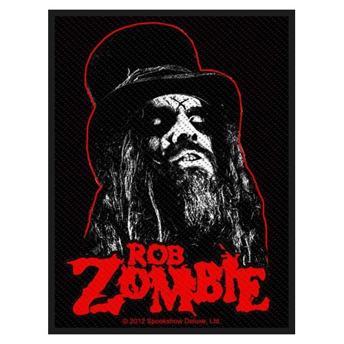 Rob Zombie Patch: Portrait