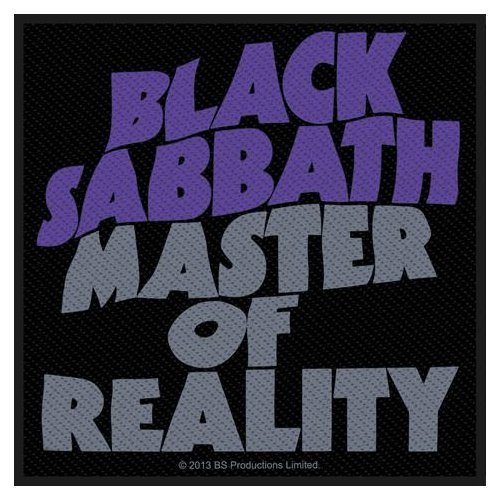 Black Sabbath Patch: Master Of Reality
