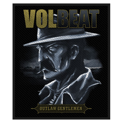 Volbeat Standard Patch: Outlaw Gentlemen
