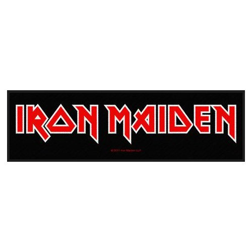 Iron Maiden Super Strip Patch: Logo