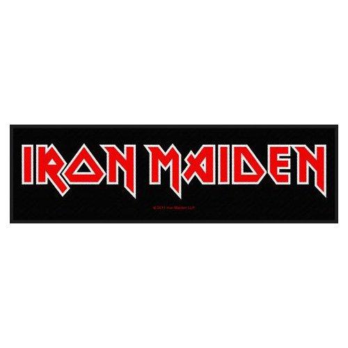 Iron Maiden Super Strip Patch: Logo