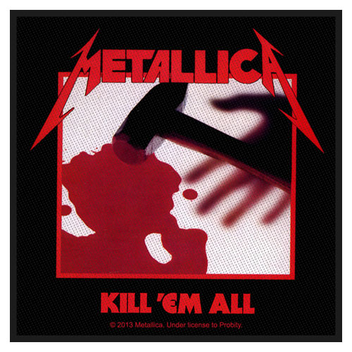 Metallica Patch: Kill 'em all