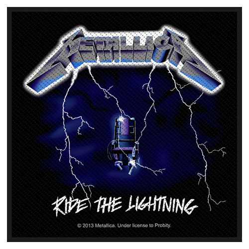 Metallica Patch: Ride the Lightning