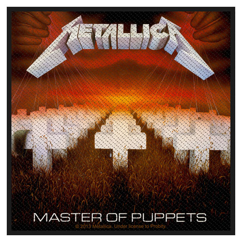 Metallica Standard Patch: Master of Puppets