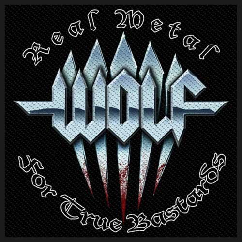 Wolf Patch: Real Metal