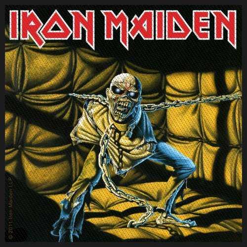 Iron Maiden Patch: Piece Of Mind
