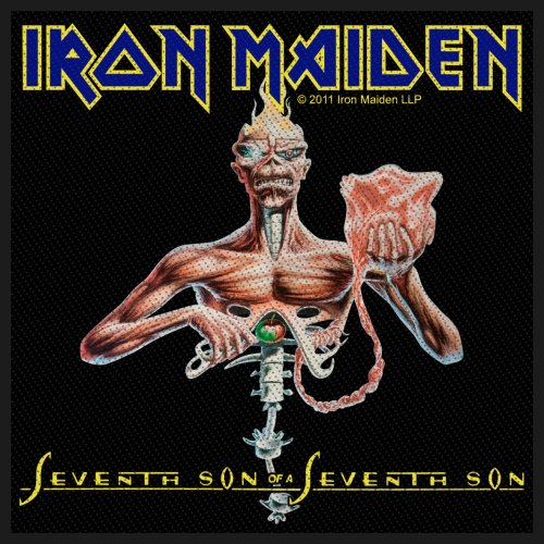 Iron Maiden Standard Patch: Seventh Son