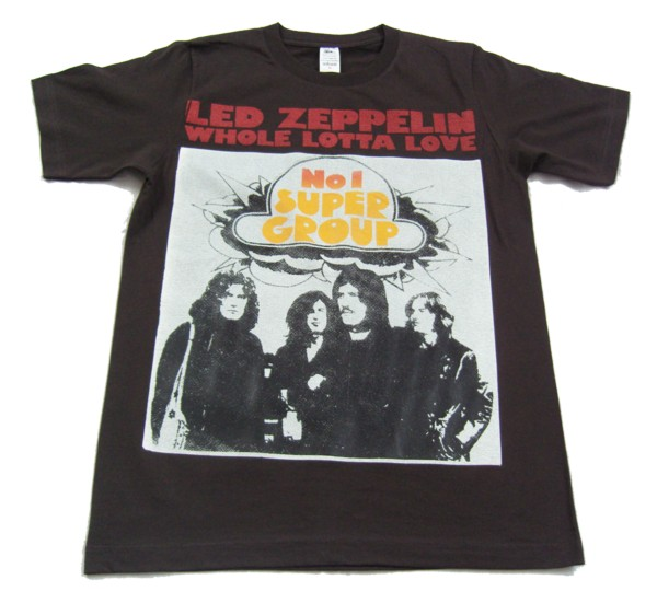 Led zeppelin No 1 supergroup T-shirt