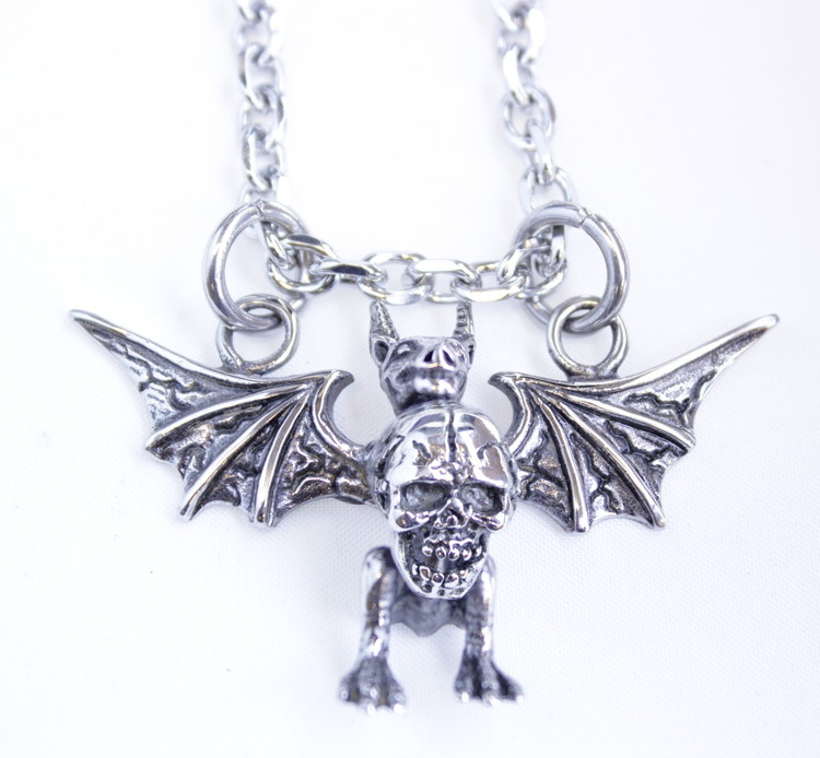 Halsband Devil/skull