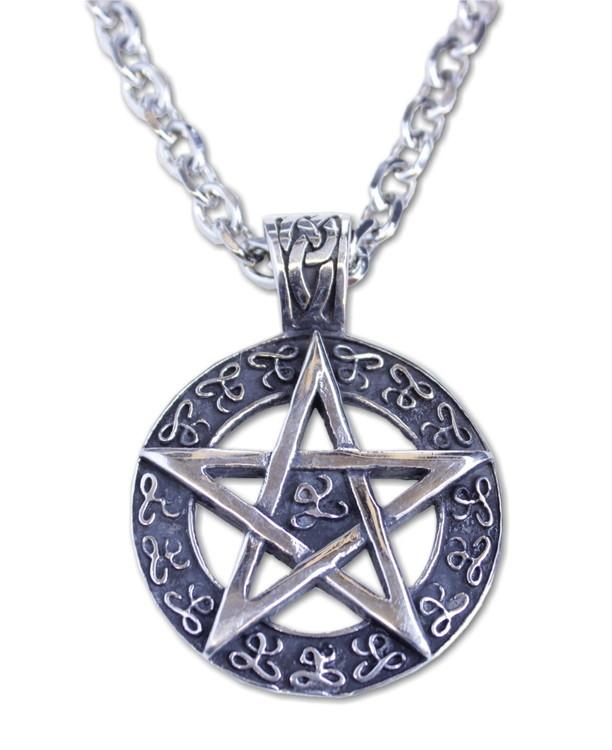 Halsband Pentagram celtic
