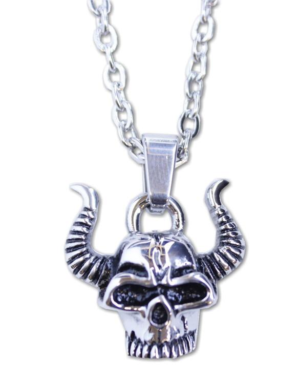 Halsband Skull/horns