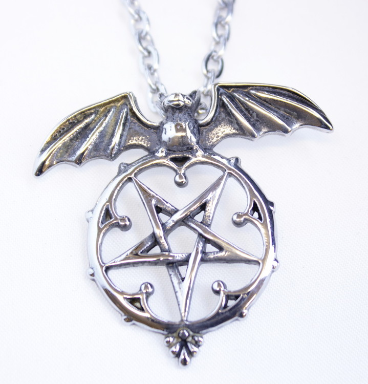 Halsband Pentagram/bat