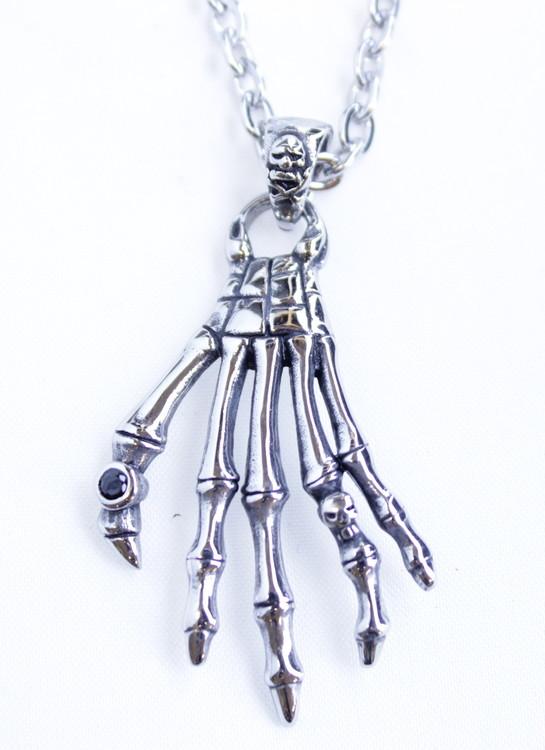 Halsband Skelletonhand