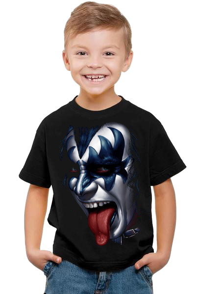 Kiss Gene Simmons barn t-shirt