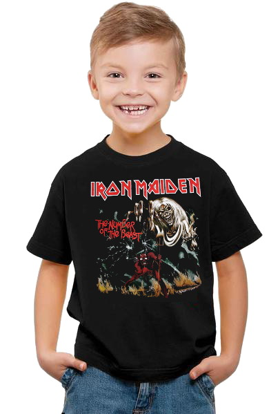 Iron maiden Number of the beast barn t-shirt