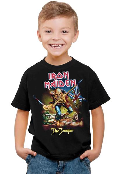 Iron maiden the trooper Barn t-shirt