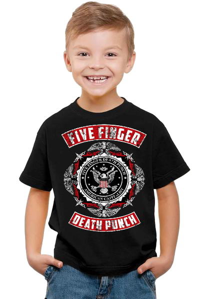 Five finger deathpunch barn t-shirt