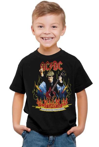 Ac/dc Barn t-shirt