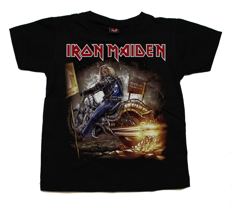 Iron maiden Biker barn t-shirt