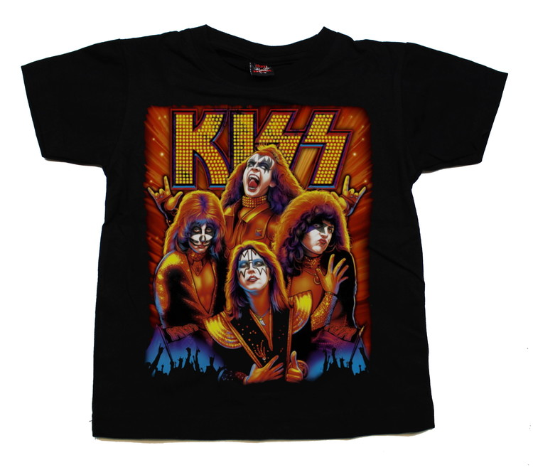 Barn t-shirt Kiss