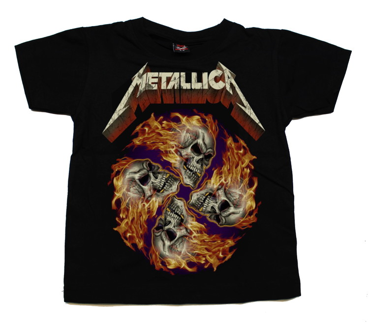 Barn t-shirt Metallica skulls
