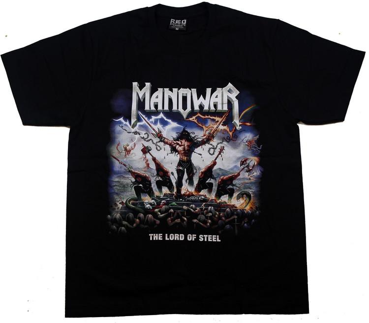 Manowar Lord of steel T-shirt