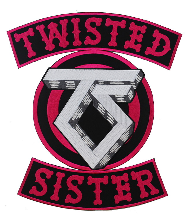Twisted sister Backpatch XL