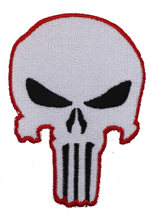 Punisher red/white