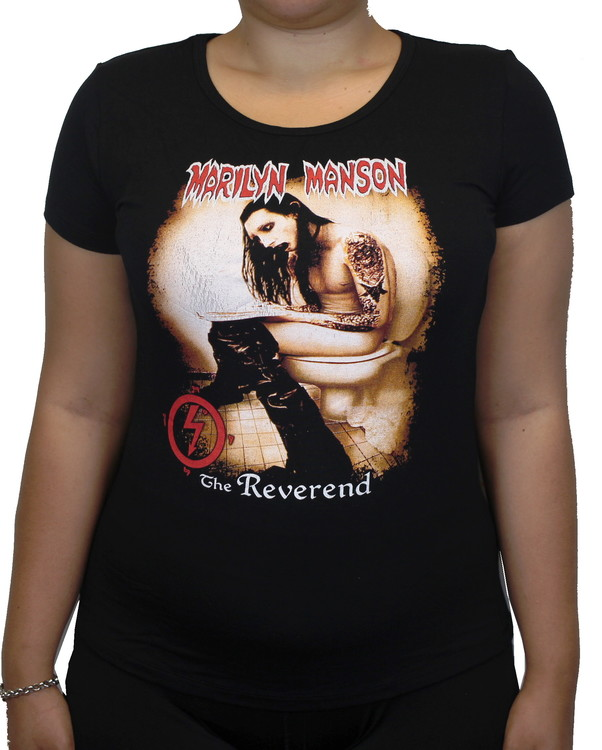 Marilyn Manson The reverend Girlie t-shirt