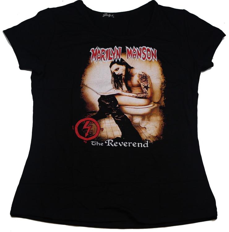 Marilyn Manson The reverend Girlie t-shirt