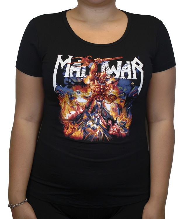 Manowar Girlie t-shirt