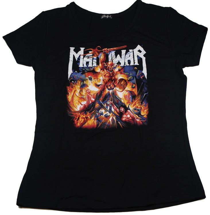 Manowar Girlie t-shirt