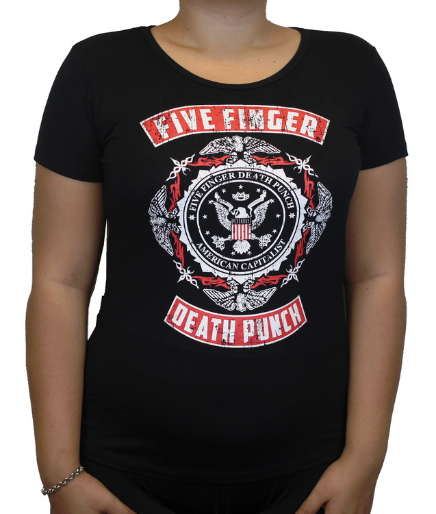 Five finger death punch Girlie t-shirt