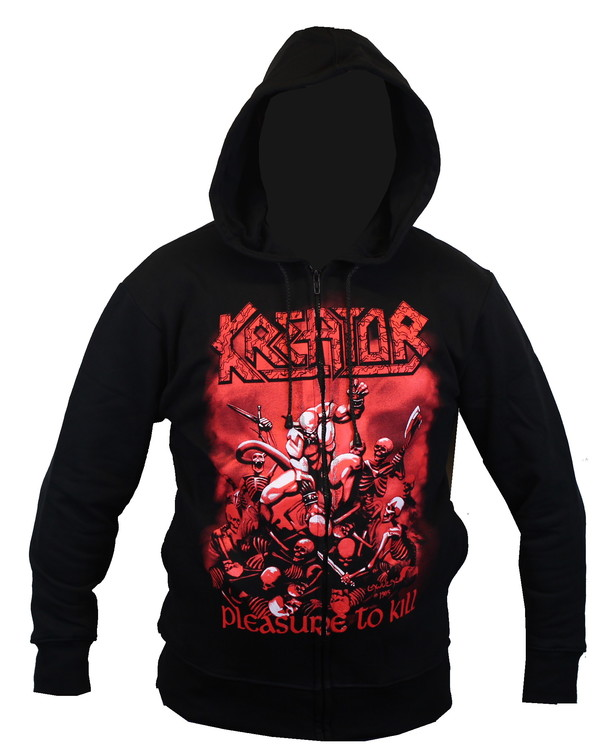 Kreator Pleasure to kill Hoodie