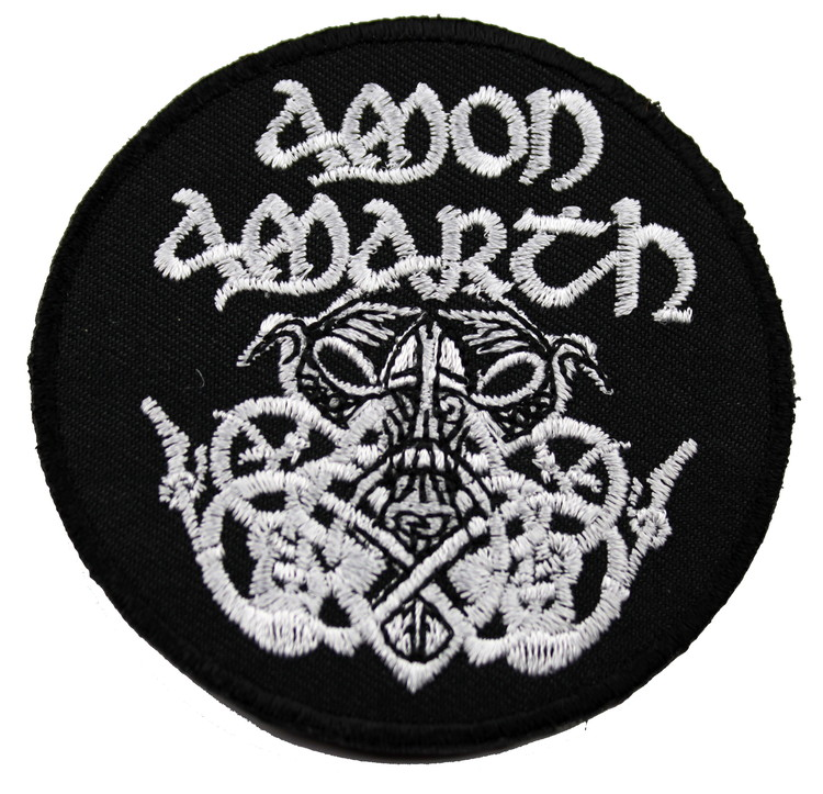 Amon amarth round white