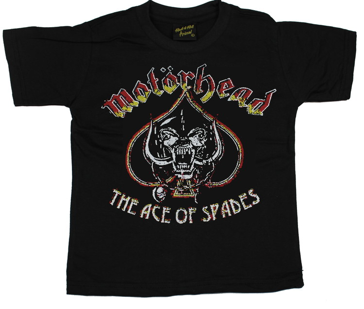 Motörhead Ace of spades vintage barn t-shirt