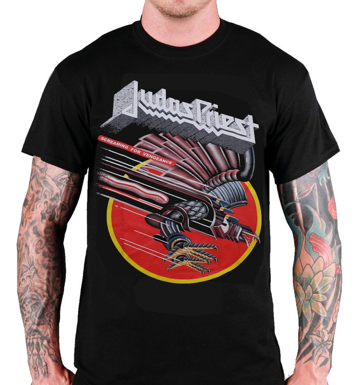 Judas priest Screaming for vengance T-shirt