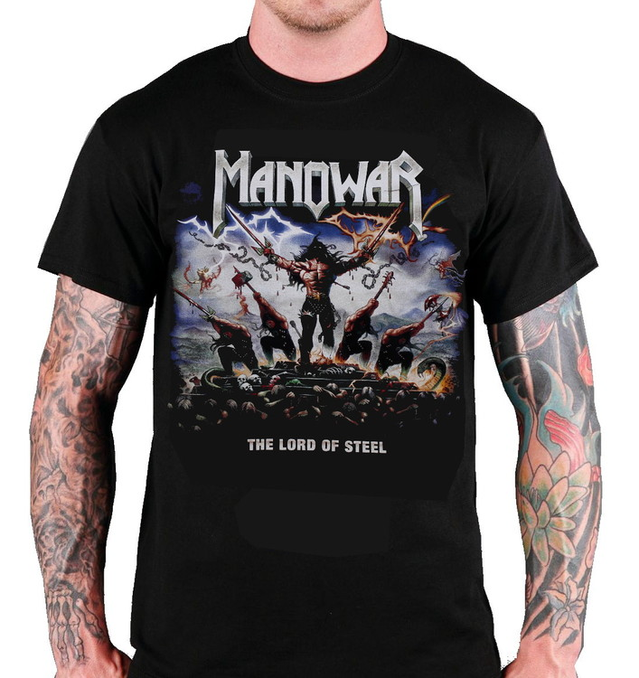 Manowar Lord of steel T-shirt
