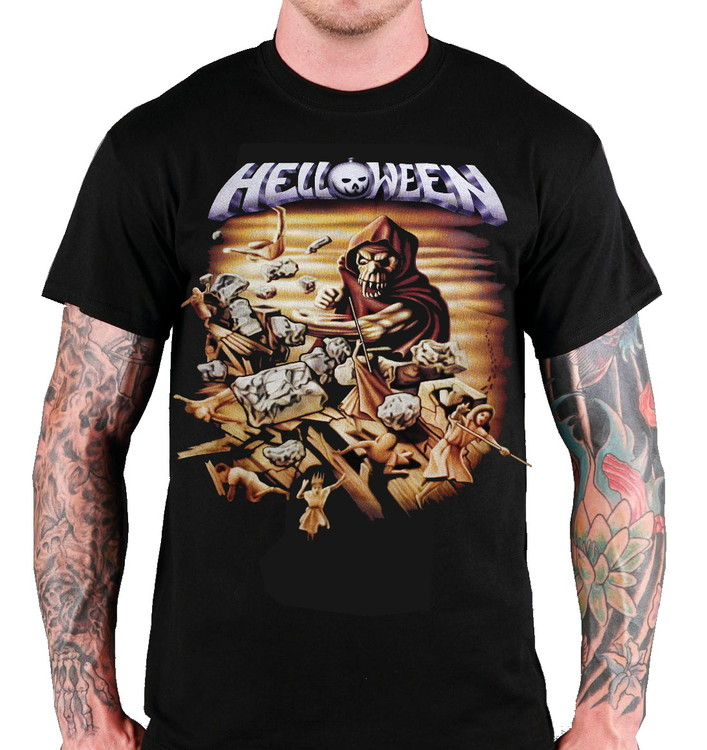 Helloween Wall of jericho T-shirt