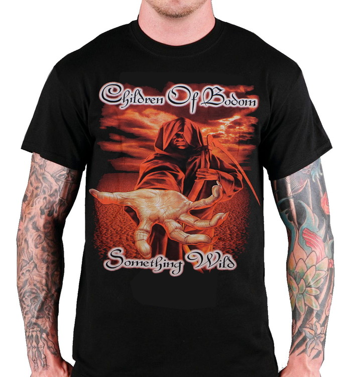 Children of bodom Something wild T-shirt