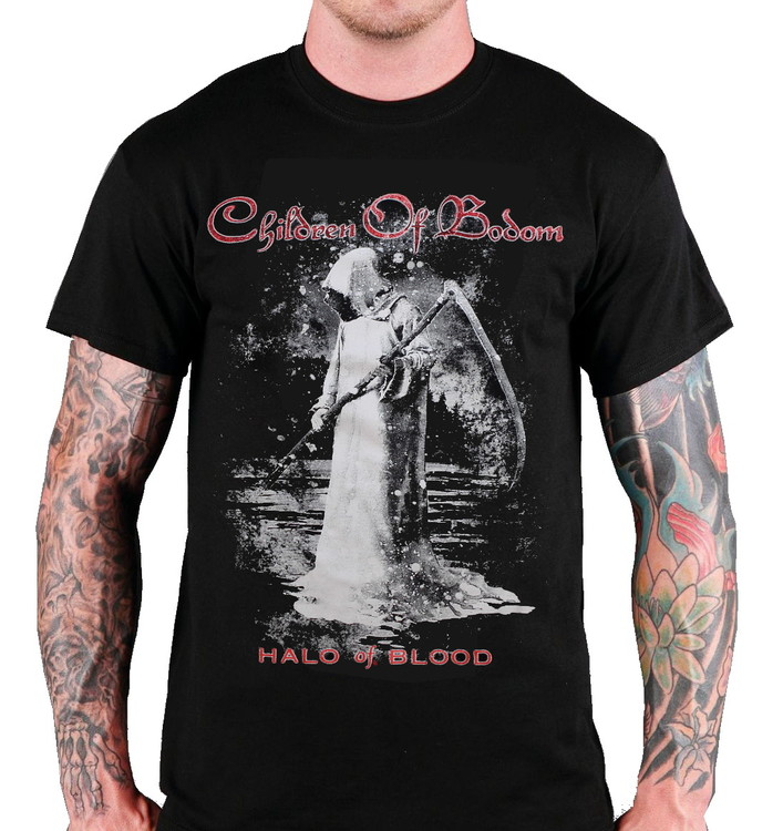 Children of bodom Halo of blood T-shirt