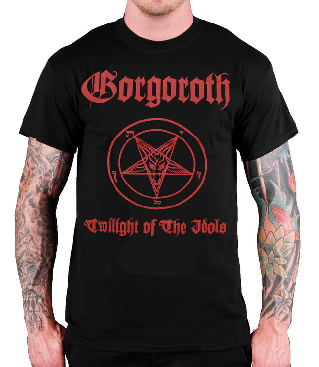 Gorgoroth twilight of the idols T-shirt