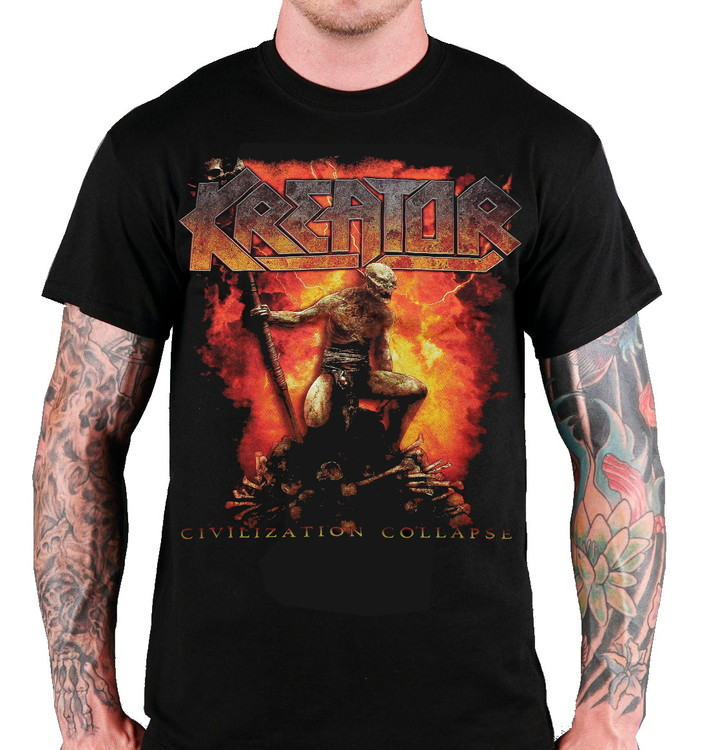 Kreator Civilization collapse T-shirt