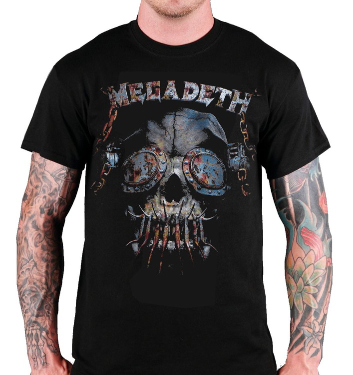Megadeath rusty skull T-shirt