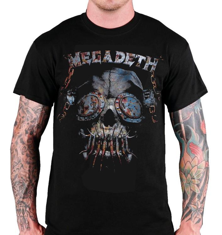Megadeath rusty skull T-shirt