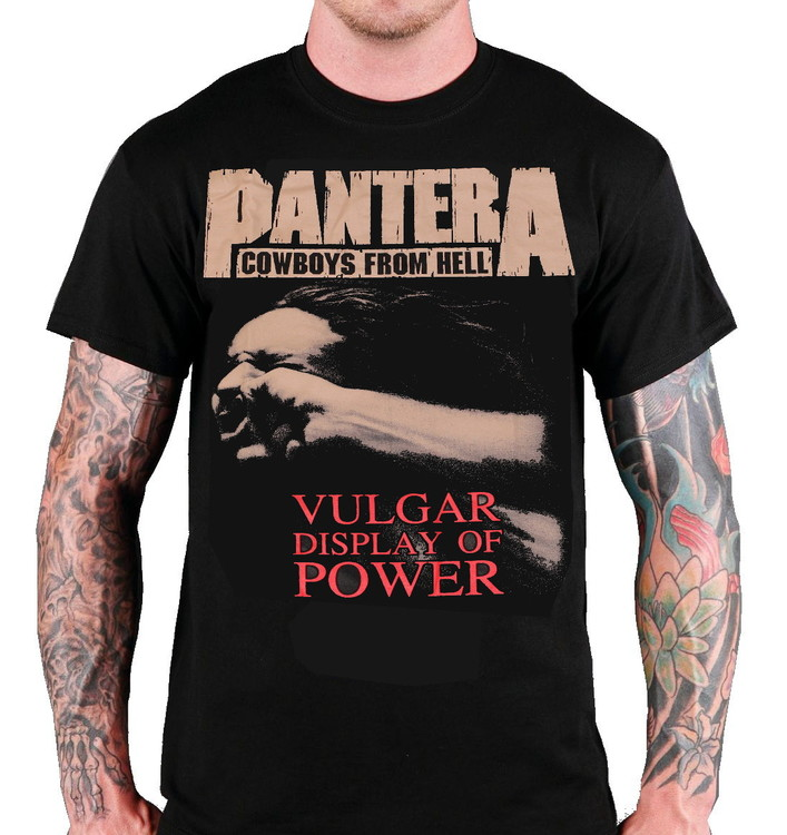 Pantera Vulgar display of power T-shirt