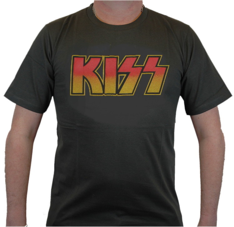 Kiss logo T-shirt