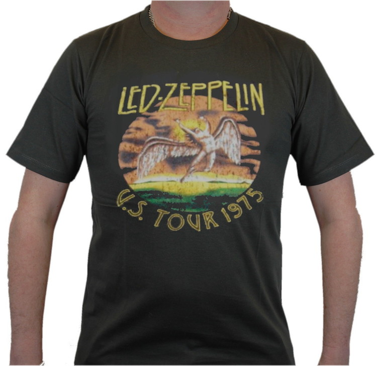Led zeppelin US tour 1975 T-shirt