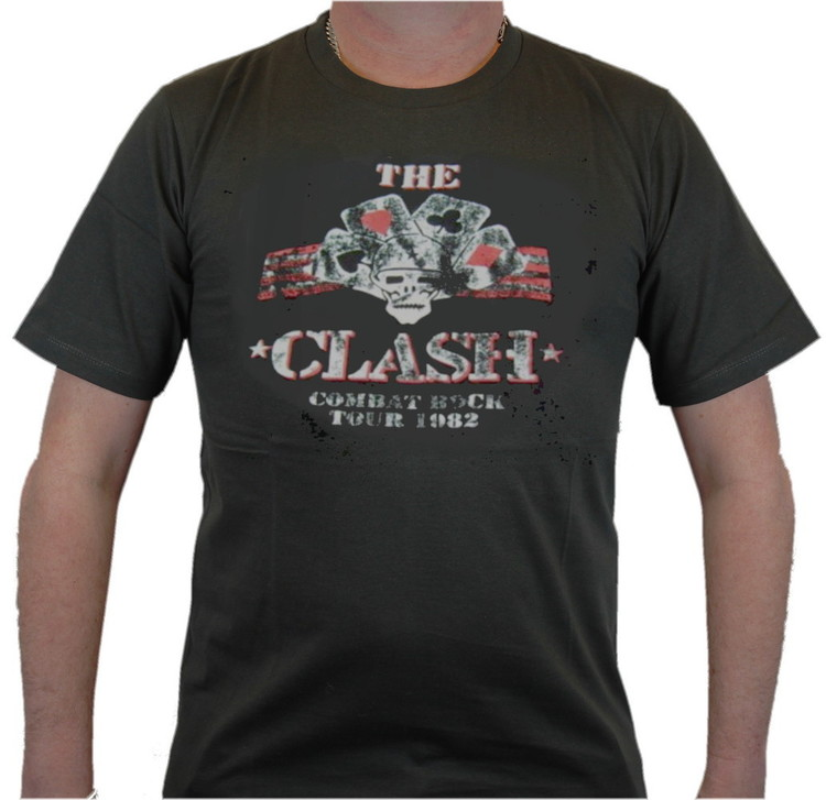 The clash Combat rock T-shirt