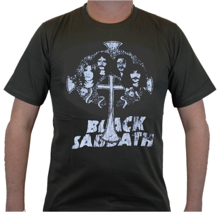 Black sabbath cross T-shirt